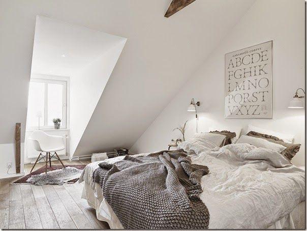 Camere Tumblr Bianche : Case e interni stile scandinavo urban chic bianco 14 house