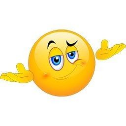 I dunno | Smiley Face | Smiley, Funny emoticons et Emoji ...