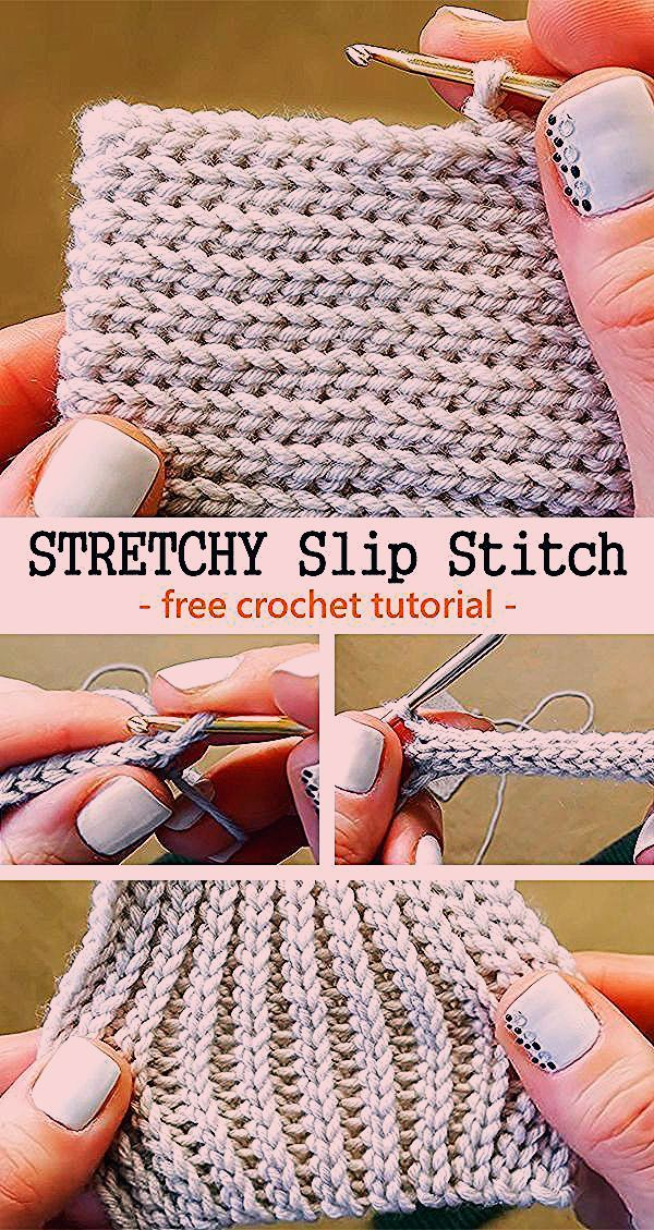 Photo of Crochet Stretchy Slip Stitch – Handwerk – Sewing skills – Ella Blog,  #Blog #crochet #Ella #H…