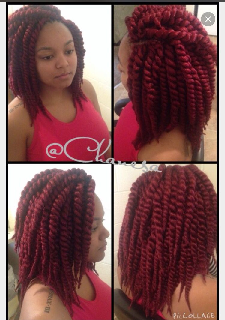 Mambo Havana Twist In Burgundy Beauty Hair Styles Braids