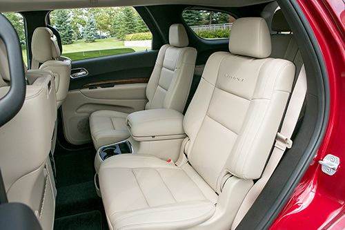 which 2014, 2015 3-row suvs offer captain's chairs? - http://www