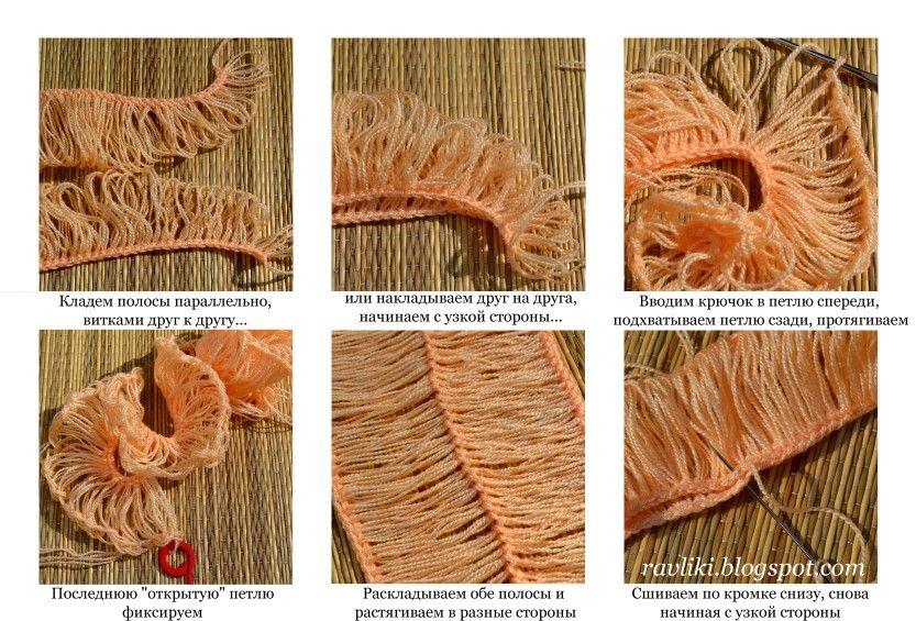 Рукодельные Равлики: Вязание броши на вилке | Мастер-классы по рукоделию