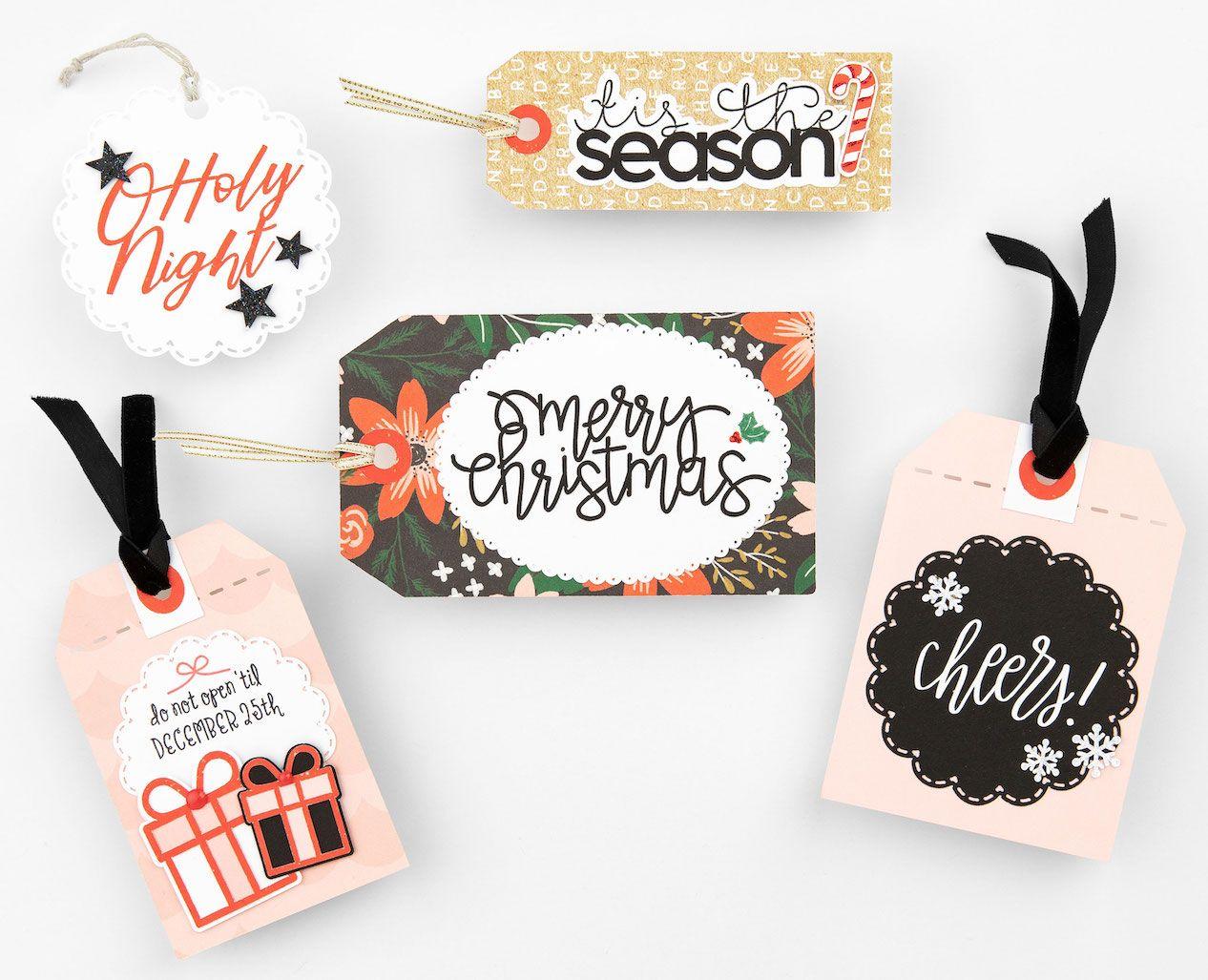 christmas gift tags cricut