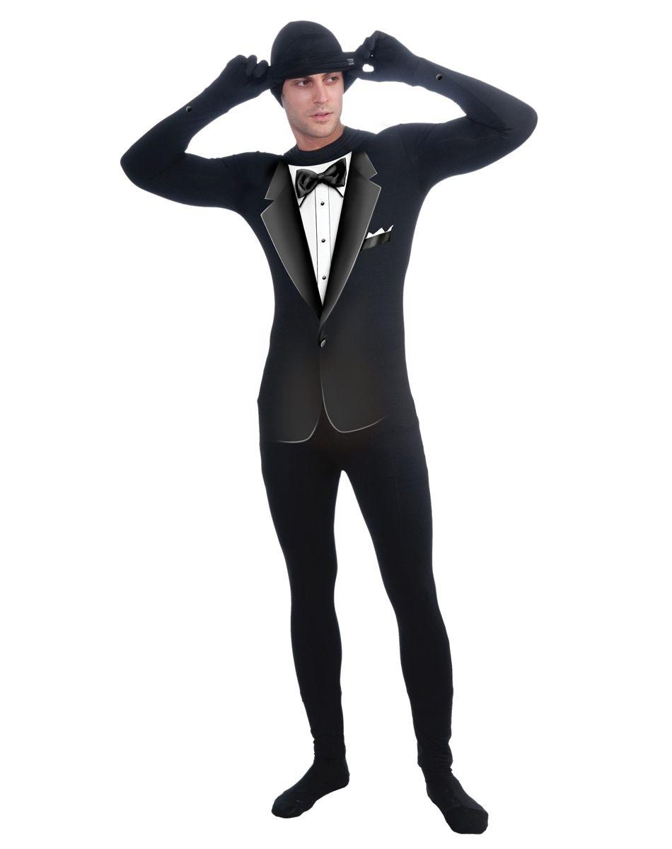 Tuxedo Skin Suit Adult Costume ($39.99)   Halloween Wishlist ...