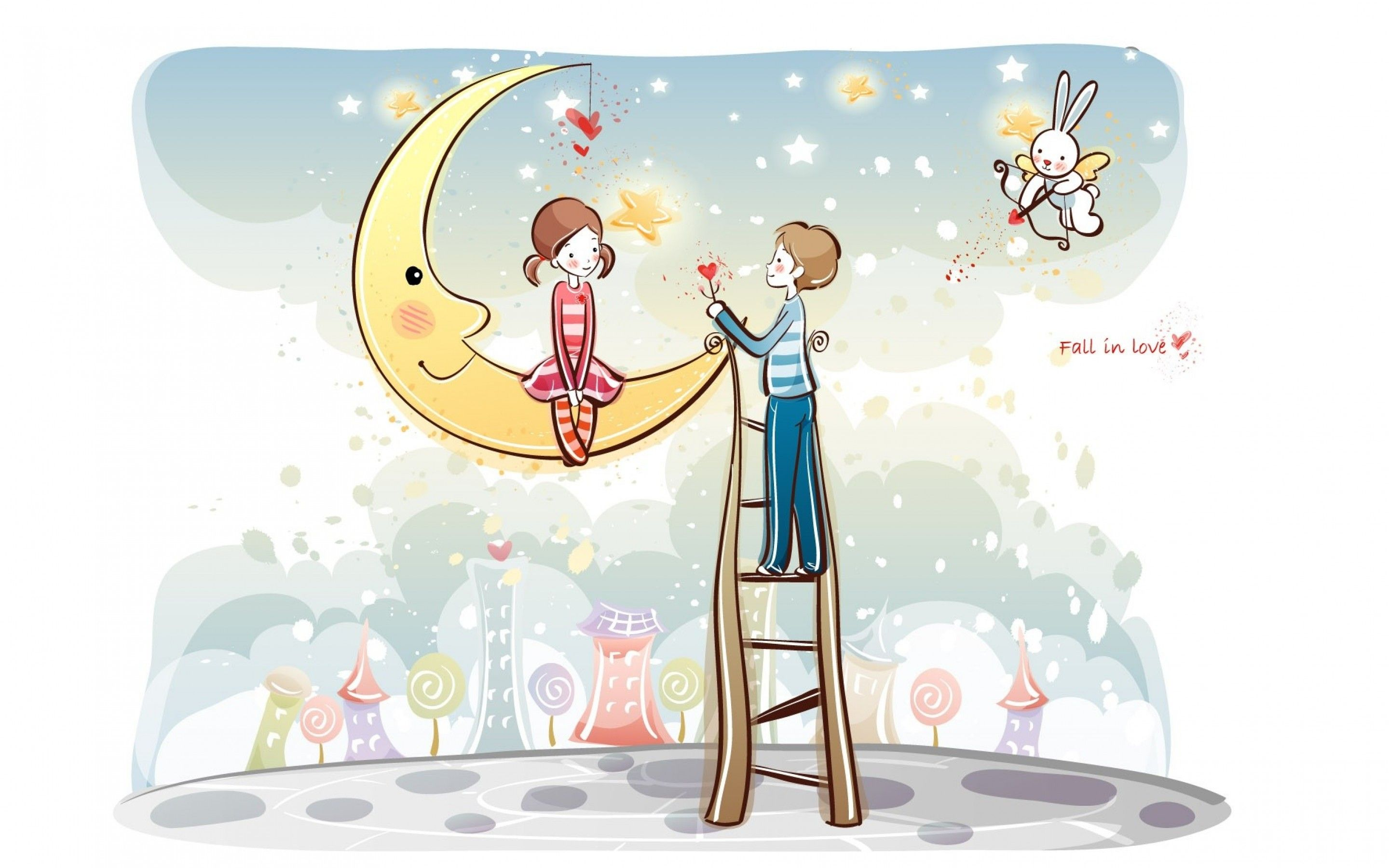 Fantastic Cartoon Love HD Wallpaper For Android - 61d64ab3daf2b0e5859fc395a0639cae  Gallery_2939.jpg