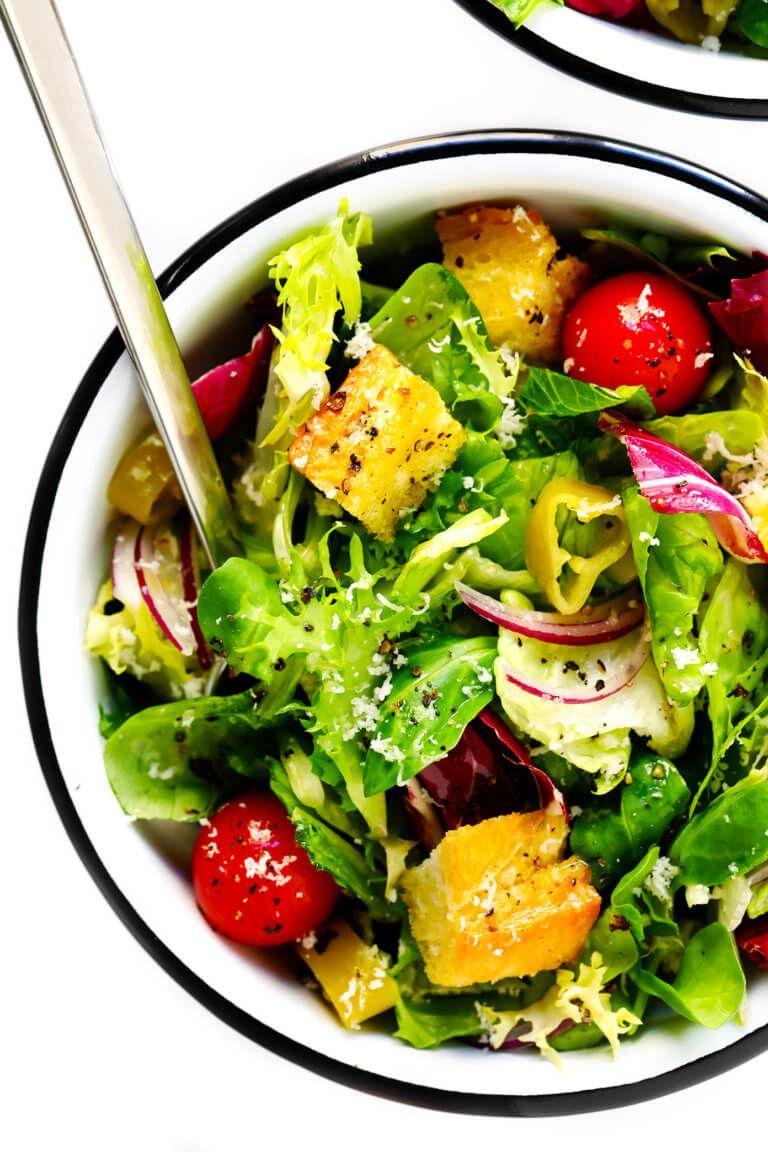 Everyday Italian Salad Recipe Italian salad recipes