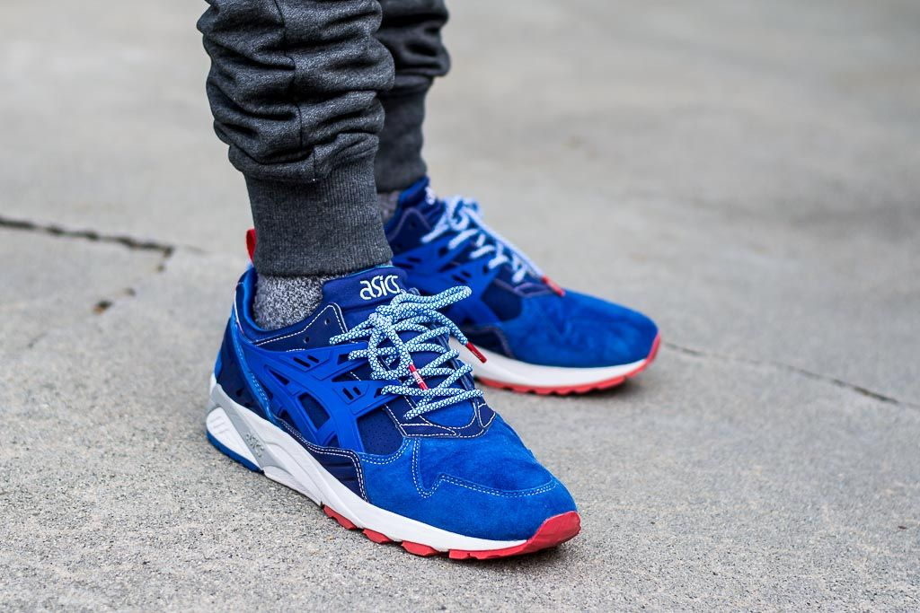 a74e9d13a1f2 Mita x Asics Gel Kayano Trainer Trico On Feet Sneaker Review