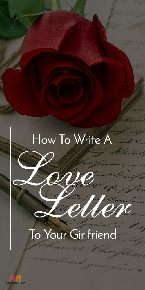 How To Write A Love Letter To Your Girlfriend With Sample