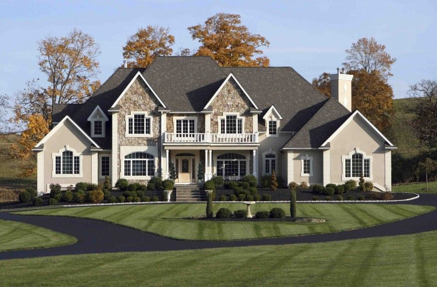 Big Houses Facts You Cannot Miss Viahouse Home Styles Pinterest Home Beautiful And