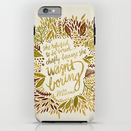 Zelda Fitzgerald – Fall Palette iPhone & iPod Case