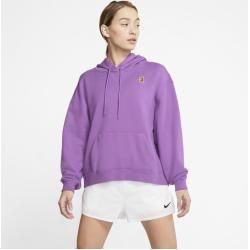 NikeCourt Tennis-Hoodie für Damen - Lila Nike #jumpsuitromper