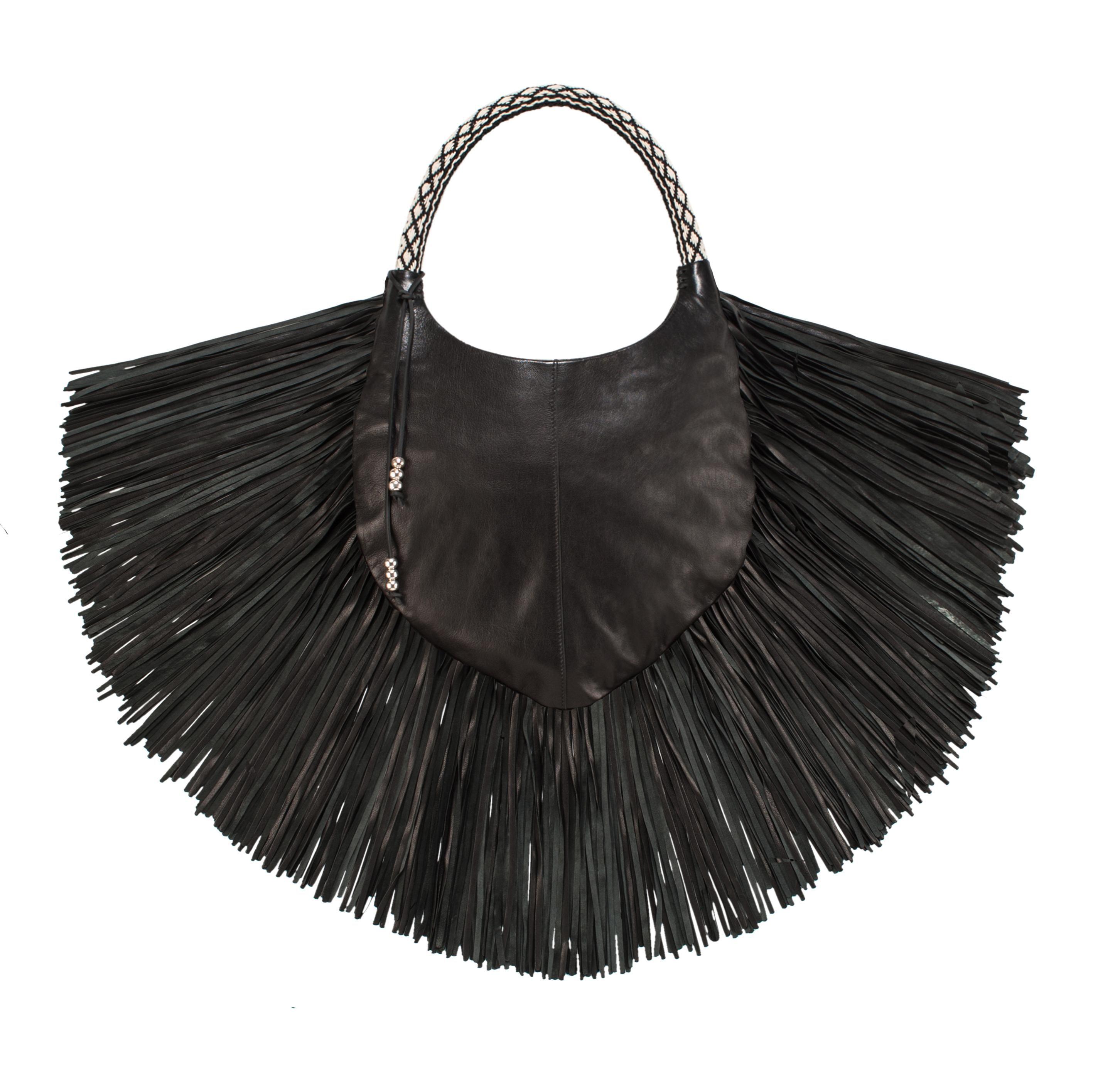 Tribal Fringe Bag on AHAlife, Barbara Bonner, $1,088