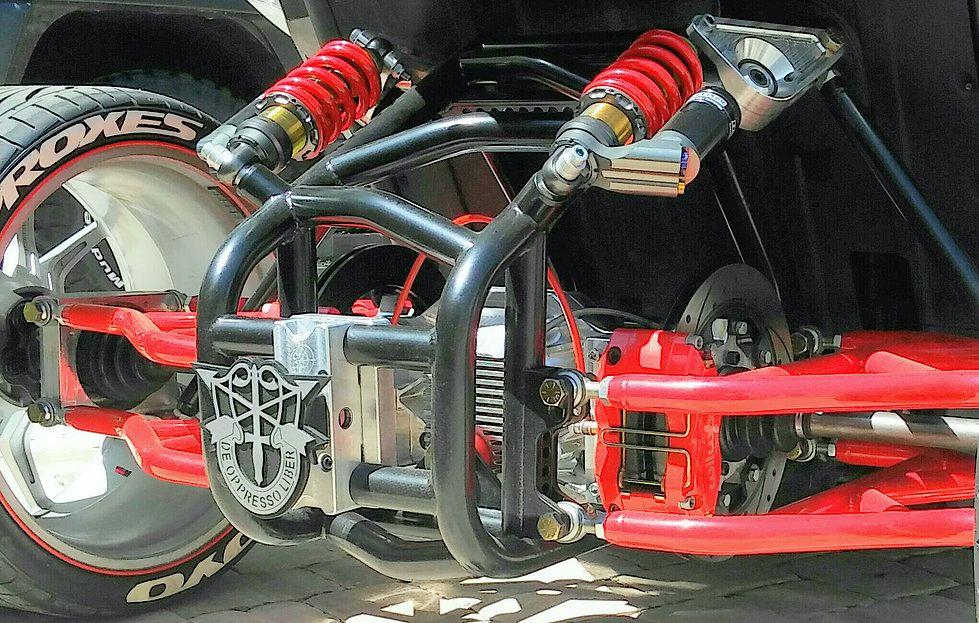 Polaris Slingshot Bolt On Quad Conversion Kit Polaris Slingshot