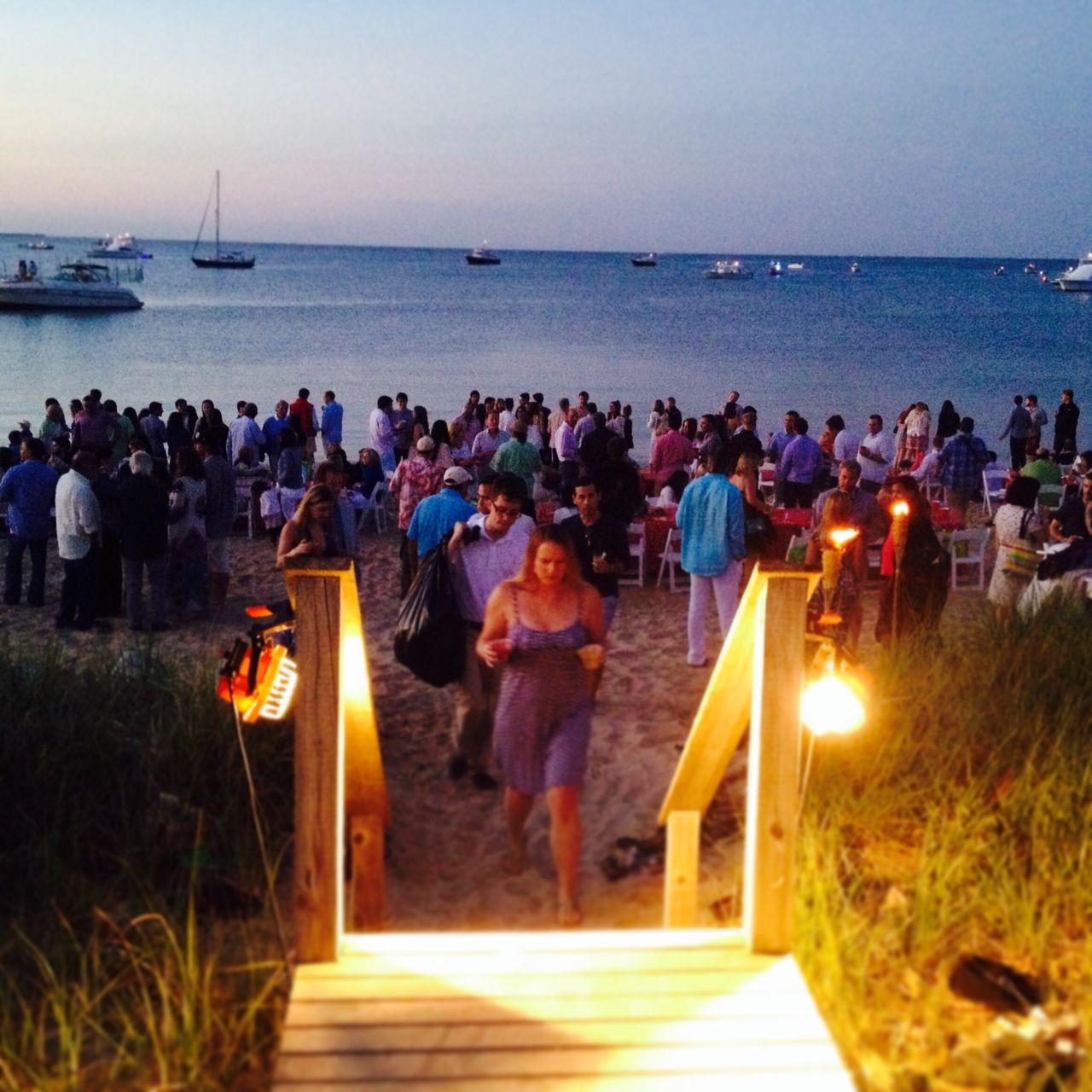 Buzz Feed 4th of July Beach Party in the Hamptons