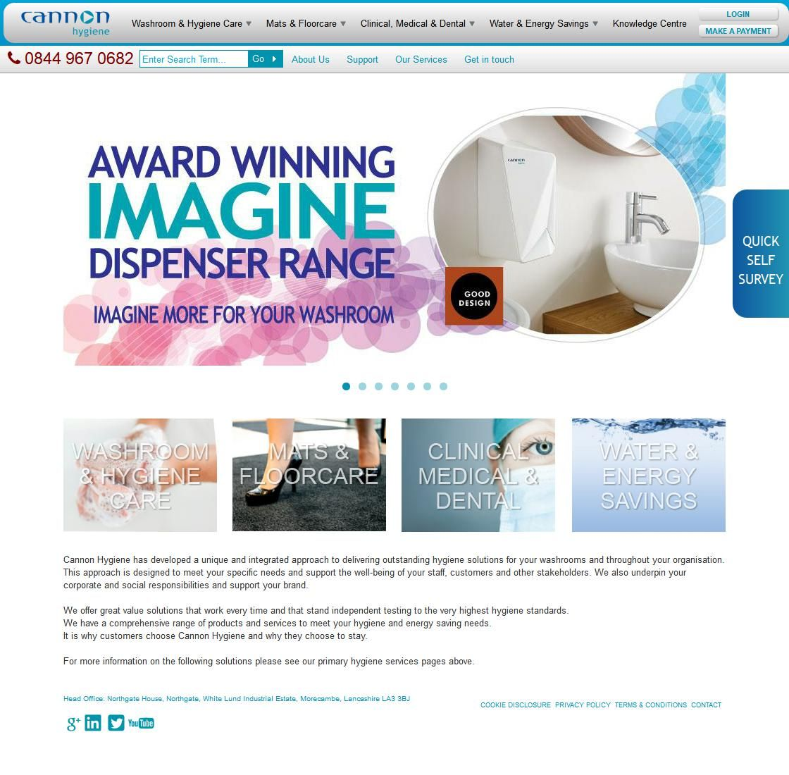 Cannon Hygiene Ltd Hygiene & Cleansing Services Ind Estate