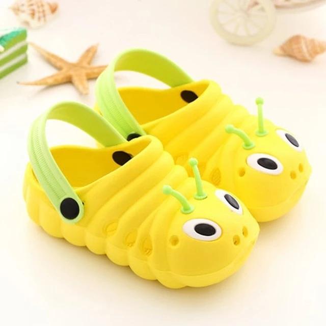 Summer Toddler  Baby Boys Girls Cute CartoonBeach Sandals Slippers Flip Shoes