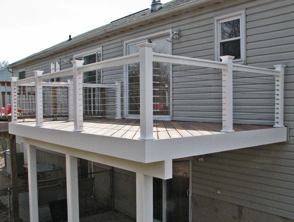 Best Cable Deck Railing Systems Cost Deck Railing Systems 400 x 300