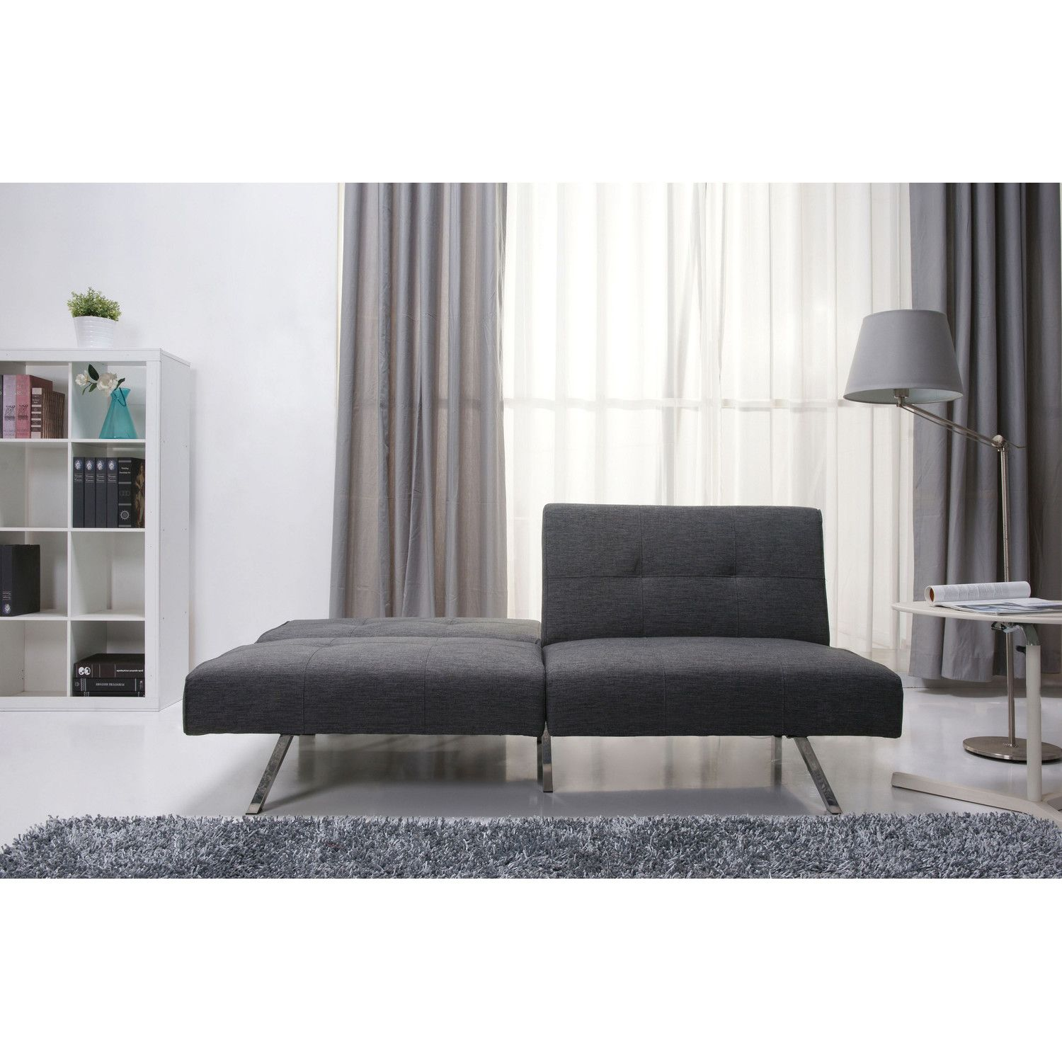 gold sparrow victorville foldable futon sofa bed $289 | home jawns