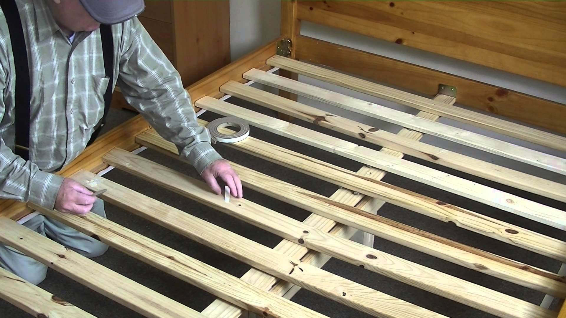 Squeaky Bed Easy Fix Youtube Wooden Bed Frames Wooden Bed