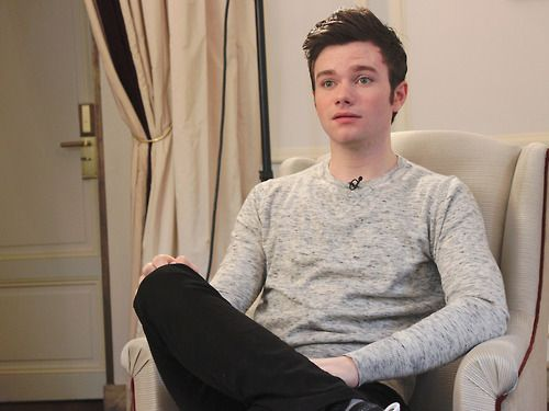 Visiting Paris for the presentation of Struck opening the Champs-Elysées Film Festival, Chris Colfer answered our questions this Wednesday, June 12, 2013