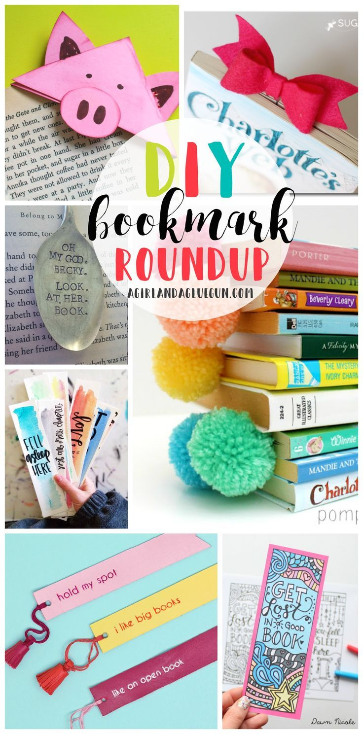 Totally Awesome DIY Bookmarks images