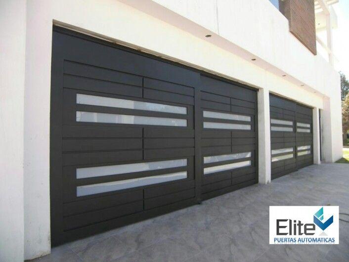 Puerta cochera exteriores - Puertas automaticas para cocheras ...