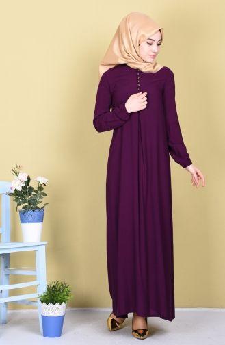Sefamerve Dugme Detayli Viskon Elbise 1250 04 Murdum Elbise Elbise Modelleri Dugmeler