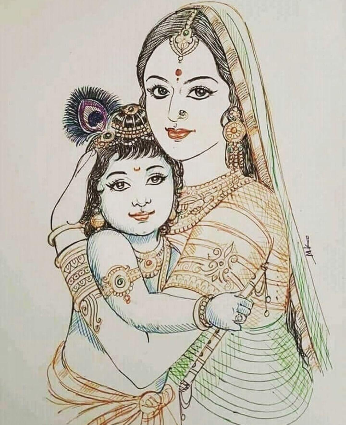 Jaishreekrish Krishna Painting