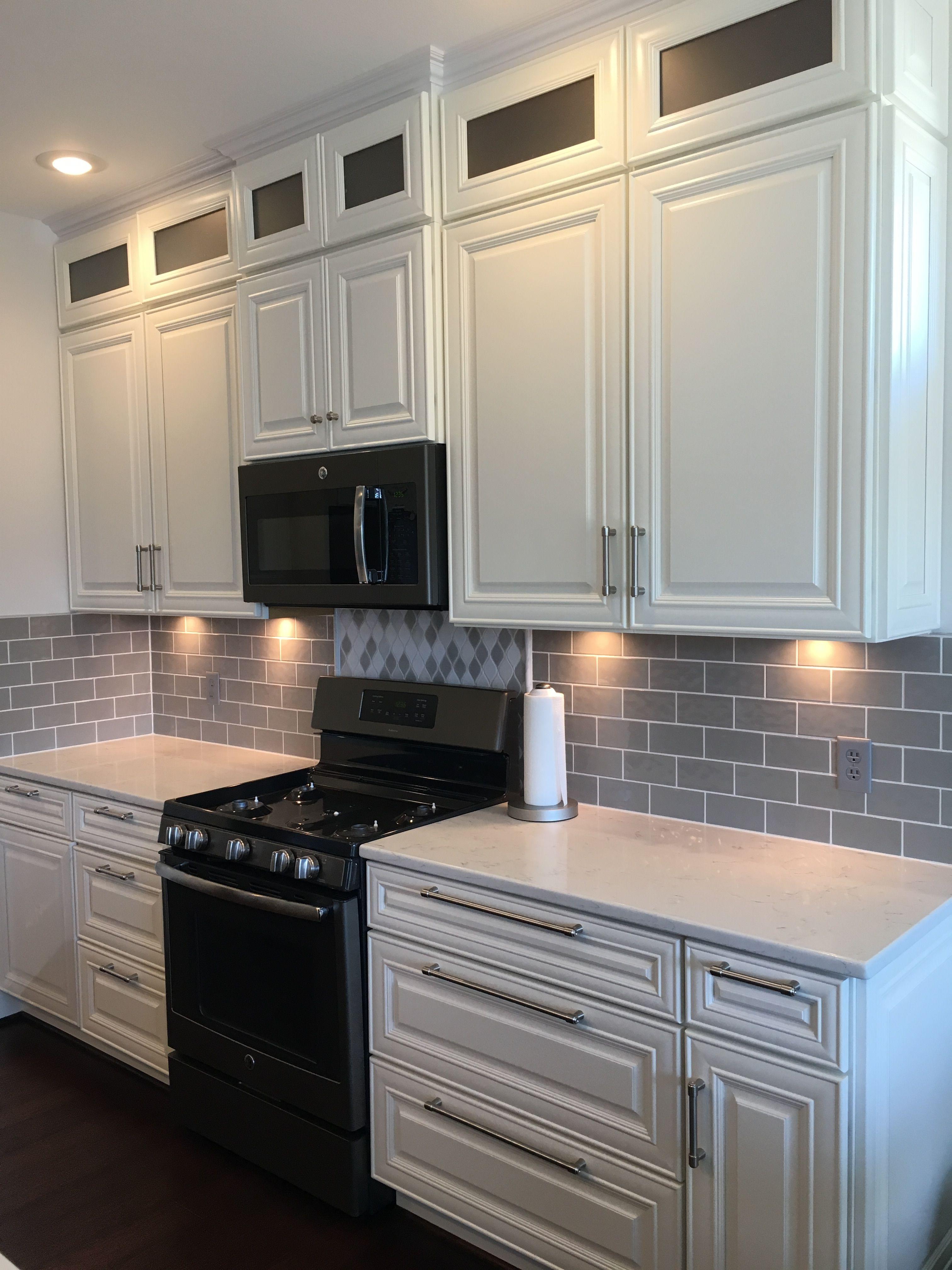 Hampton White Cabinetry Premium Cabinet Studio Overlandparkcabinets Com White Cabinetry White Kitchen Semi Custom Cabinets