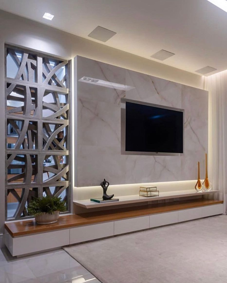 30 Simple Tv Unit Designs For Living Room Modern Tv Wall