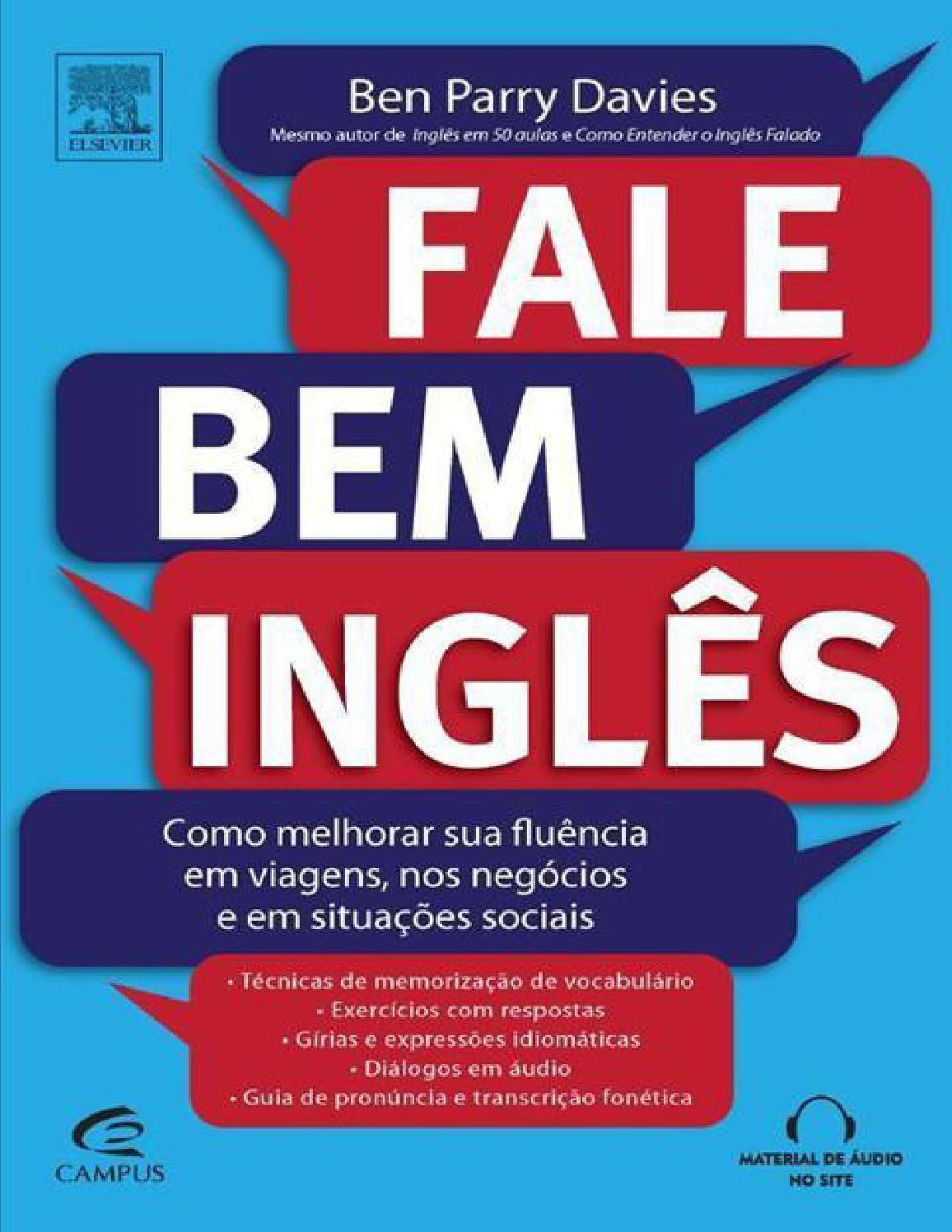 Fale Bem Ingles Ben Parry Davies Ingleses Perguntas Em Ingles E
