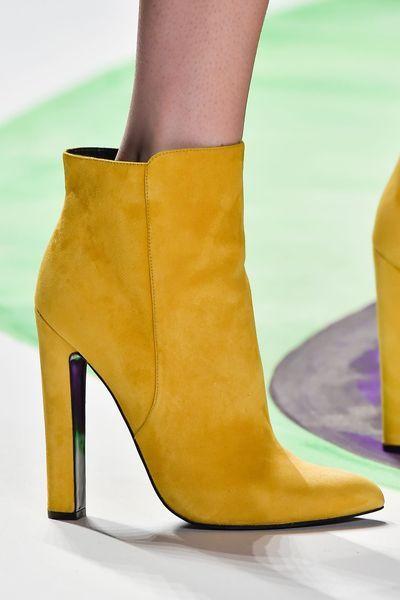 2f32fad373a3 Shoe trends Fall Winter 2015-16. Desigual - New York Fashion Week. http