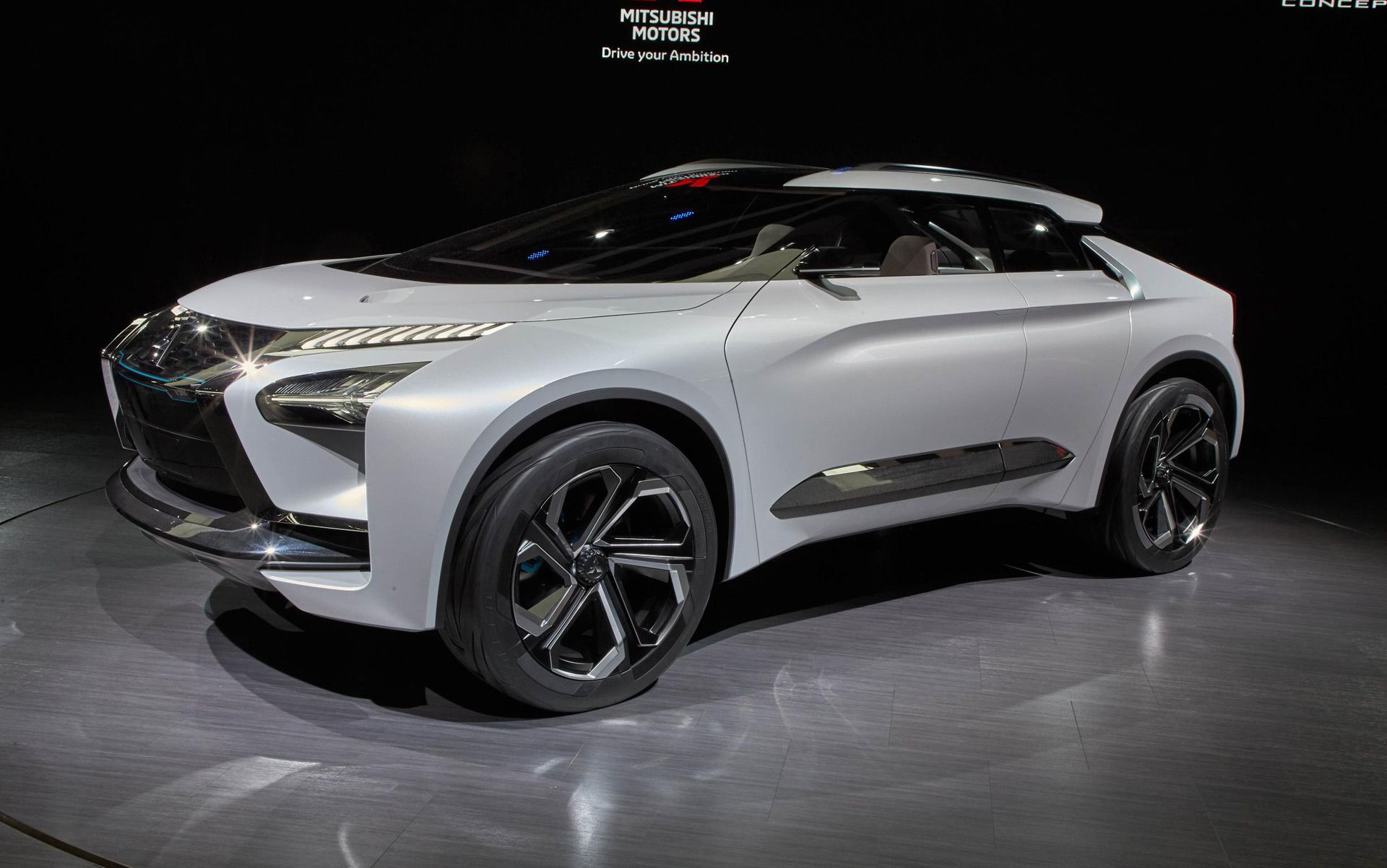 Mitsubishi E Evolution Concept Electric Suv For Tokyo Motor Show Tokyo Motor Show Sporty Suv Used Cars Under 5000