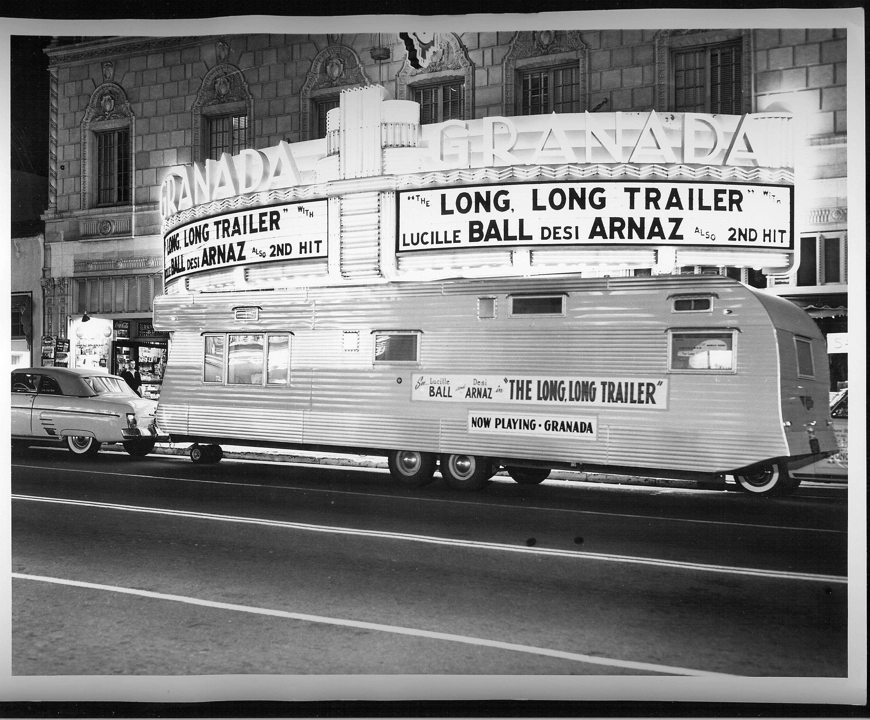 The Long, Long Trailer.  This is the movie that sparked my love for vintage travel trailers.....'ditto'!