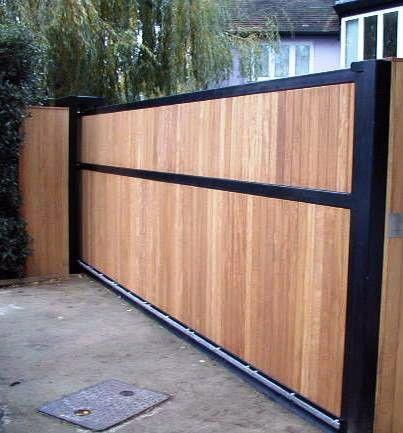 Bespoke Contemporary Wooden Garden Gates Wooden Garden Gate Wood Gates Driveway House Gate Design