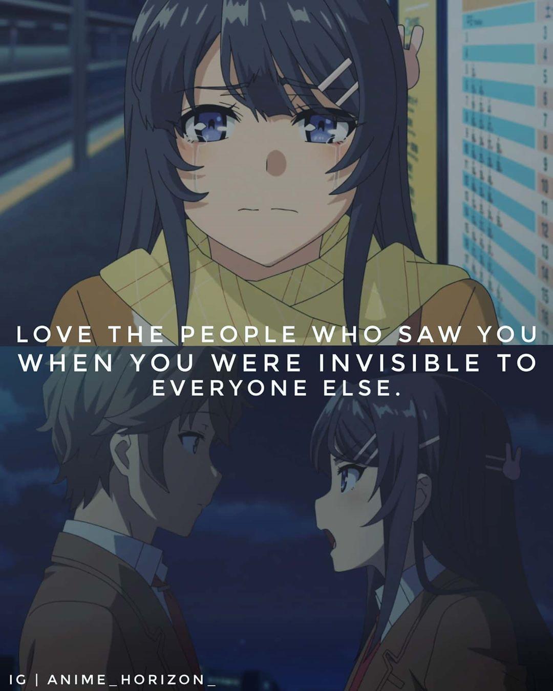 Anime Quotes Mai Sakurajima Cute Manga Girl Romantic Manga