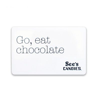 $50 See's Candies Gift Card | I Heart See's | Pinterest | Candies ...