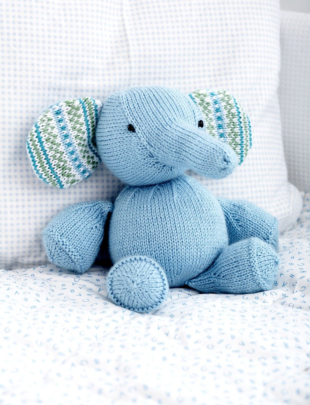 Toy Elephant Knitting Pattern (paid) | Knit and Crochet | Pinterest ...