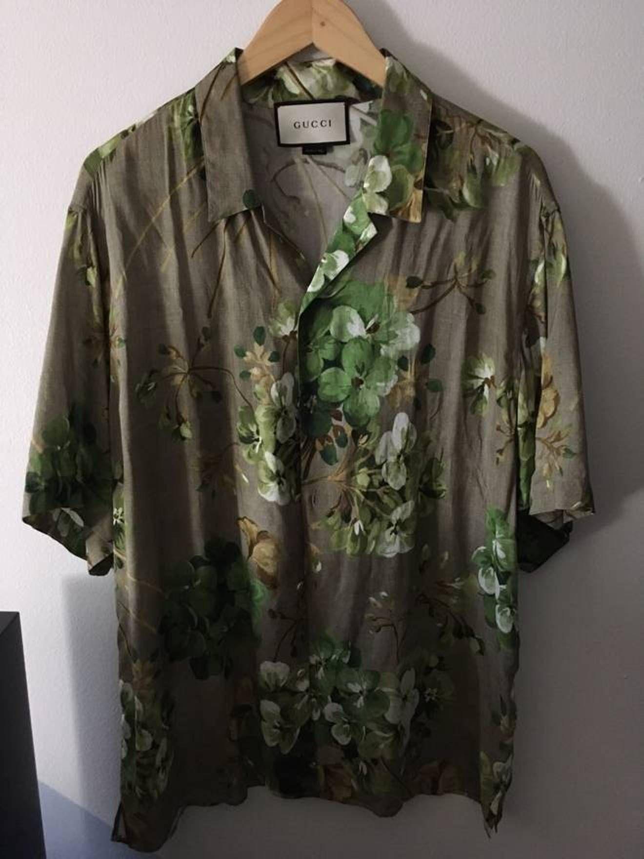e52a0e935 S/S 16 Floral Viscose Shirt | Plagg. | Shirts, Gucci och Floral