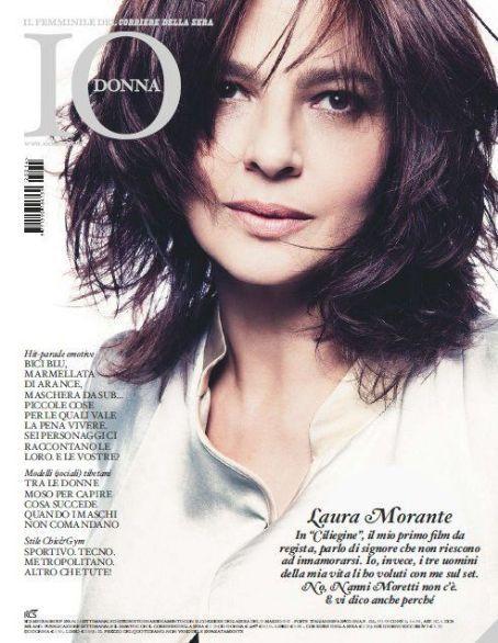 Laura Morante - Io Donna Magazine Cover [Italy] (31 March 2012)