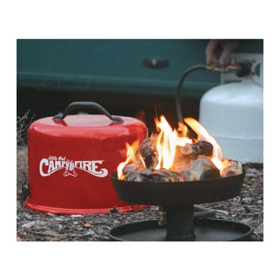 Little Red Campfire Portable Tailgating Pit No Fire Pit No Problem Portable Propane Fire Pit Camping Fire Pit Fire Bowls