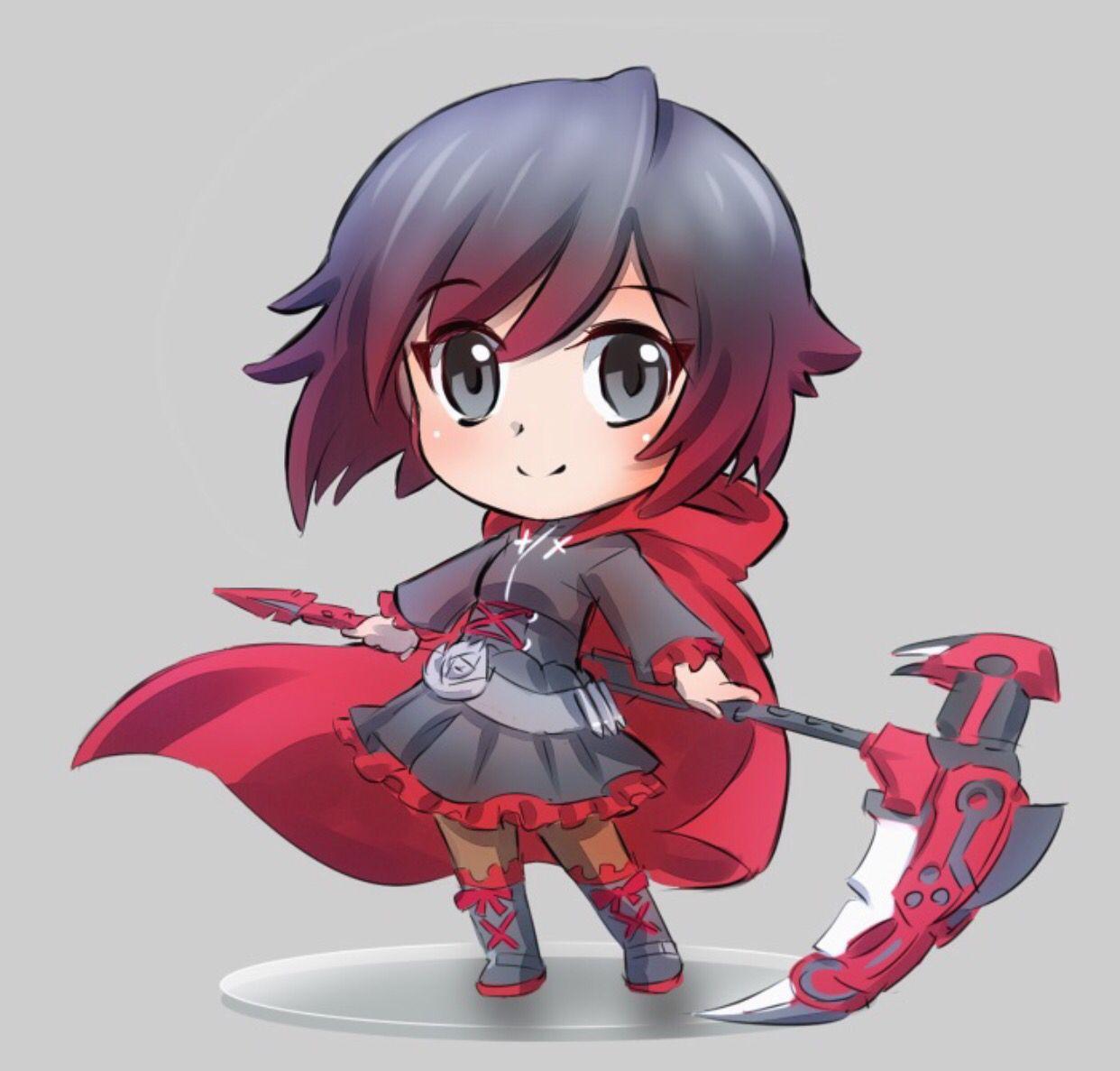 Chibi Ruby | RWBY | Chibi characters, Anime chibi, Rwby
