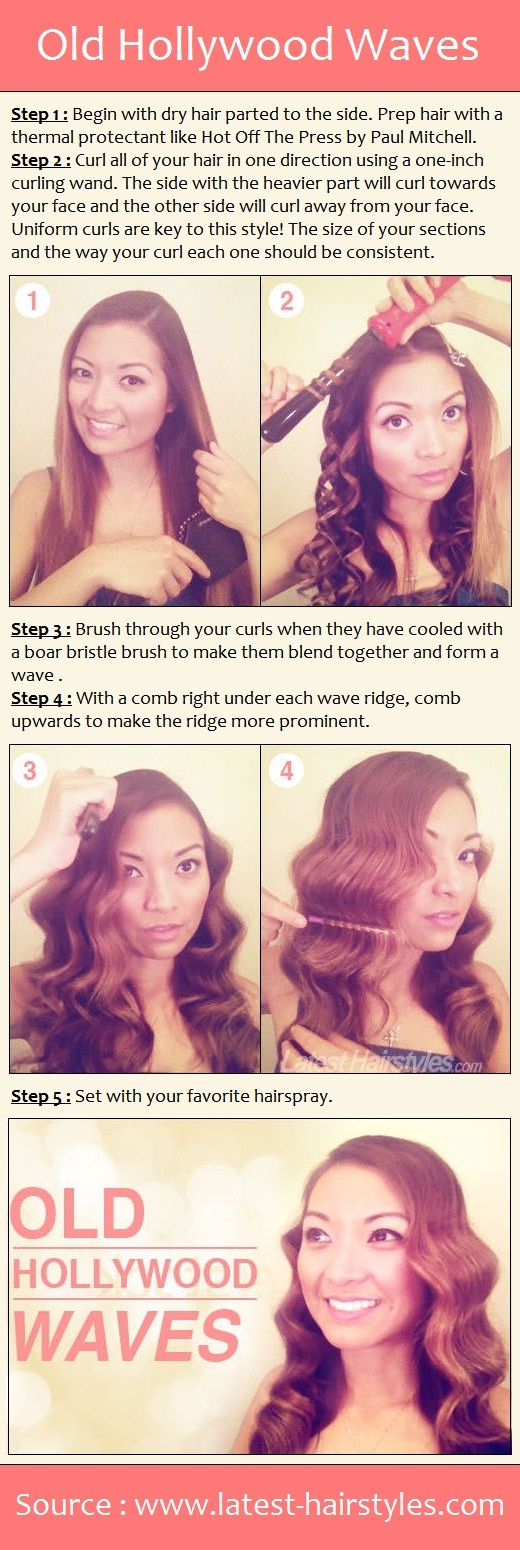Old hollywood waves pintutorials fixn my hair pinterest old hollywood waves pintutorials solutioingenieria Choice Image