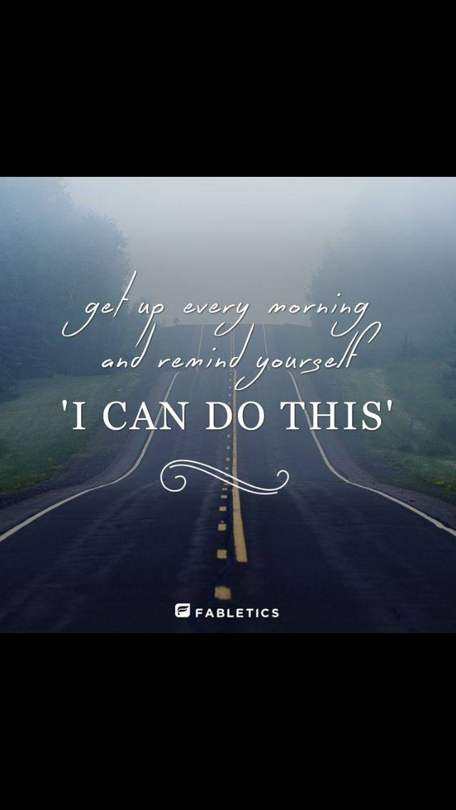 Yes I Can Do This Wellness Lifestyle Pinterest Quotes