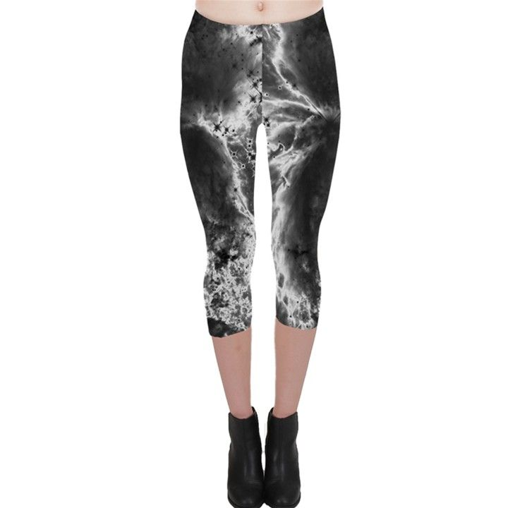 Space Capri Leggings