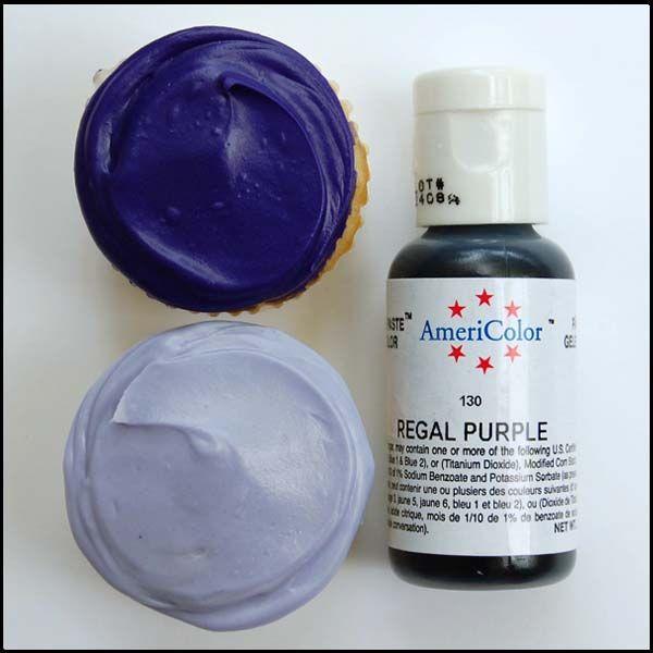 Regal Purple Gel Paste Food Color $2.75 | Purple!!! in 2019 ...