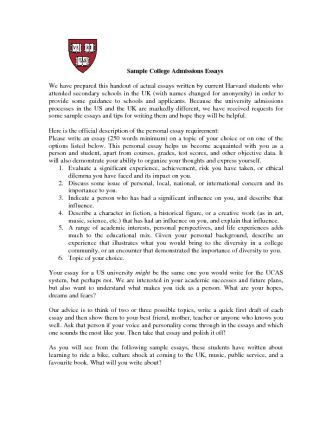 high school application essay how to write
