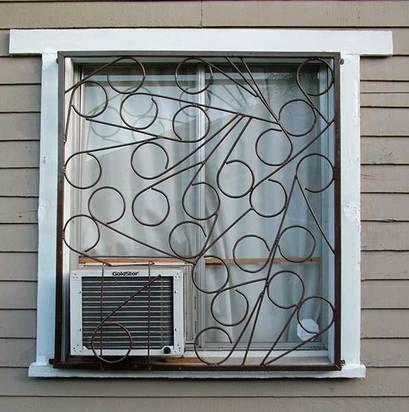 Rejas modernas circulos ideas y decoraciones pinterest - Decoraciones de exteriores ...