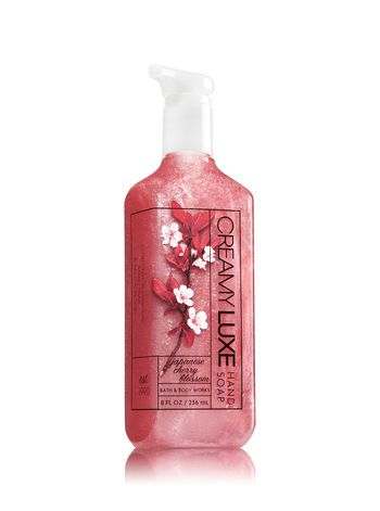 Japanese Cherry Blossom Creamy Luxe Hand Soap Bath And Body