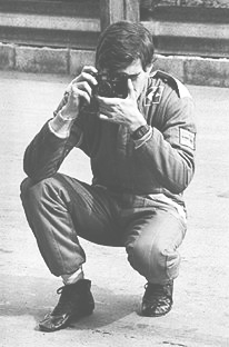 Ayrton taking a picture